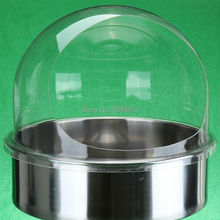 Ship from Germany! Clear Bubble Cover Fit 20″ 52cm Dia. Bowl For Cotton Candy Fairy Floss Machine