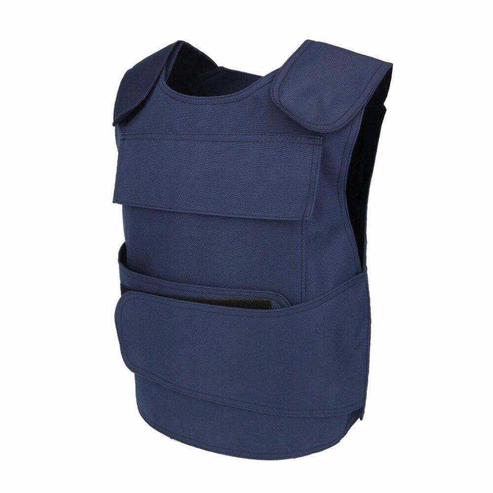 LESHP Tactical Vest Security Guard Vest Stab-Resistant Vest CS Field Genuine Protection Clothing For Men Women No Anti-Cut Liner