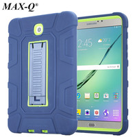 MAX Q For Samsung Galaxy Tab S2 8 0 Case Cover Shockproof Heavy Duty Rugged Silicone