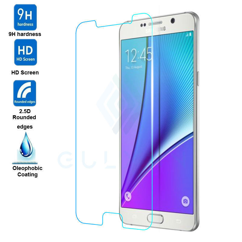 2.5D HD clear 0.3mm Premium Real Tempered Glass For Samsung Galaxy A3 A5 A7 J3 J5 J7 2015 2016 Anti-Scratch Film