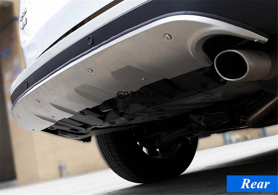 1 шт. заднего бампера протектор гвардии опорная плита для Toyota RAV4 2016 2017 подтяжку лица