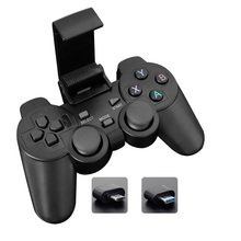 Wireless Gamepad with Clip For Android Phone/PC/PS3/TV Box Joystick 2.4G Joypad Game Controller For Xiaomi Smart Phone wireless gamepad gaming controller for ps3 android tv box pc gpd xd with otg converter computer joystick joypad