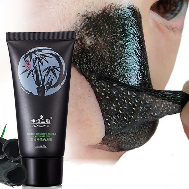 All Natural Charcoal Blackhead Mask Made With 2: Black Head Remover Nose Masks Pore Strip Black Mask