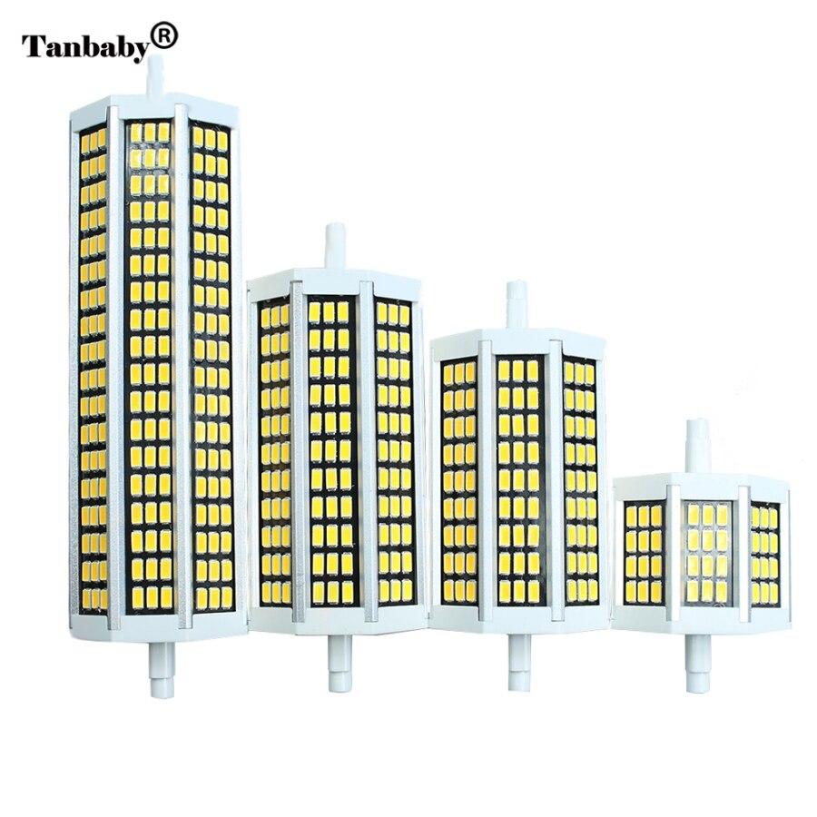 189mm Led 78mm Lumière D'énergie 10 13 W De Maïs 5 20 R7s 118mm Projecteur Économie 135mm Smd5730 Lampe À Remplacer Ampoule v8mnwN0