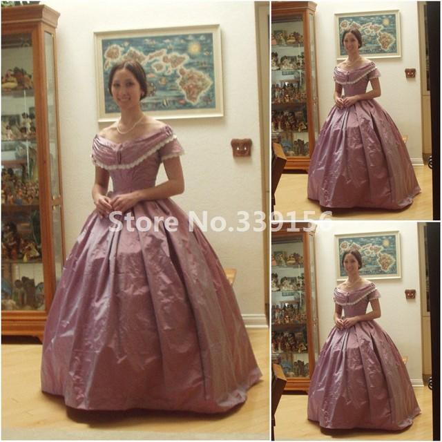 19. Jahrhundert Jahrgang Kostüme 1860 S Viktorianischen Bürgerkrieg ...