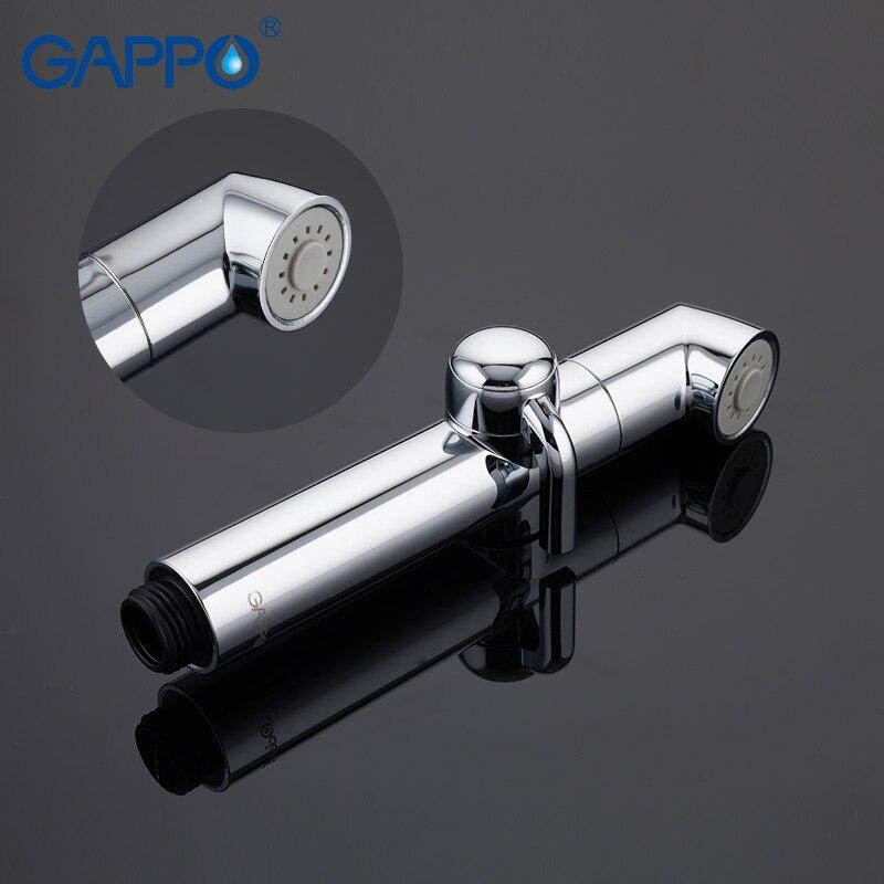GAPPO Bidets pommeau de douche de salle de bain bidet pulvérisateur de toilette hygiénique douche bidet robinet mur monté bidet robinets de douche - 5