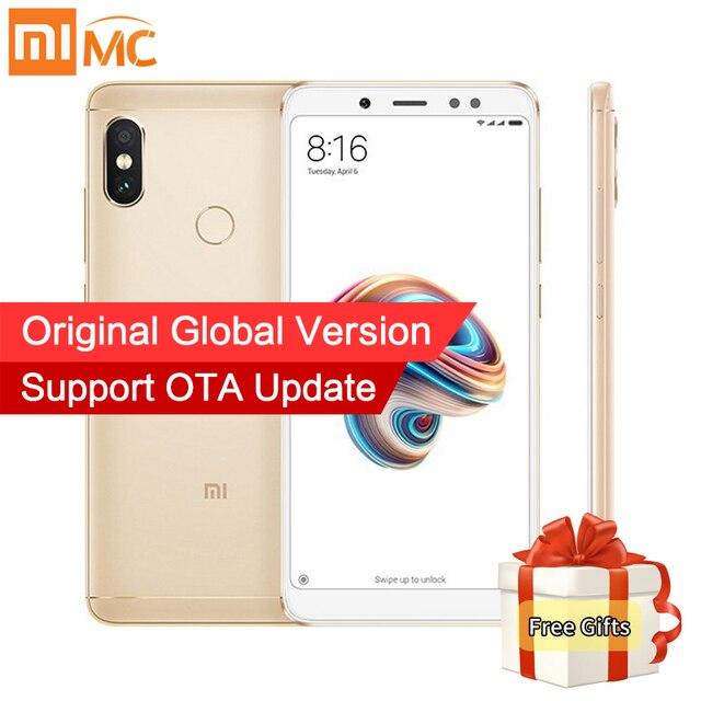 "Global Version Xiaomi Redmi Note 5 4GB 64GB 5.99"" 18:9 Full Screen Dual Camera Note5 Smartphone Snapdragon 636 Octa Core 4000mAh"