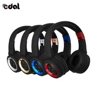 Colorful Stereo Audio Mp3 Bluetooth Headset With Microphone Support SD Card Radio Stereo Wireless Headset