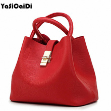 Famous Brand Fashion Candy Women Bags Mobile Messenger Ladies Handbag PU Leather High Quality Diagonal Cross Buns Mother Bag