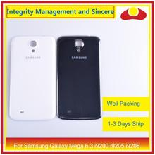 สำหรับ Samsung Galaxy MEGA 6.3 i9200 I9205 i9208 GT I9200 แบตเตอรี่ประตูด้านหลังกรณีแชสซีเปลี่ยน