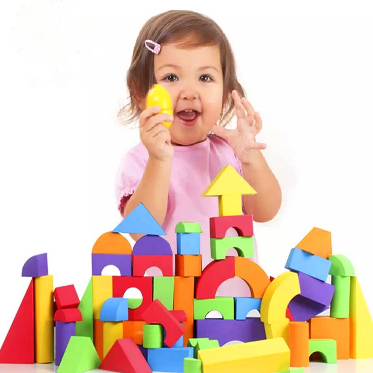 Best Toy Building Blocks For Toddlers And Kids : New pcs soft eva foam educational building block brick