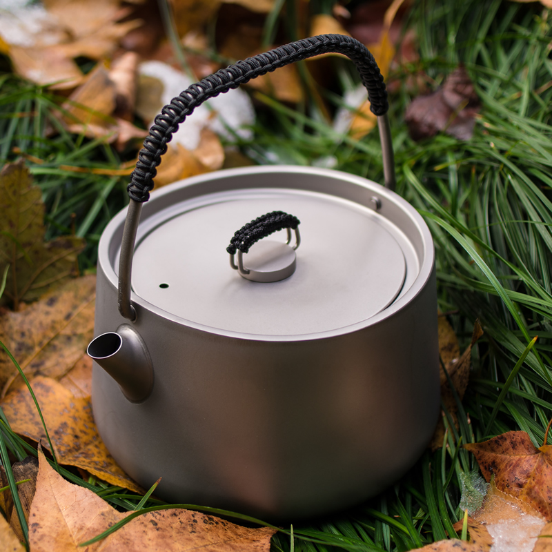Fire Maple 2016 new if the titanium teapot coffee pot kettle light fire maple tea pot tea 1L