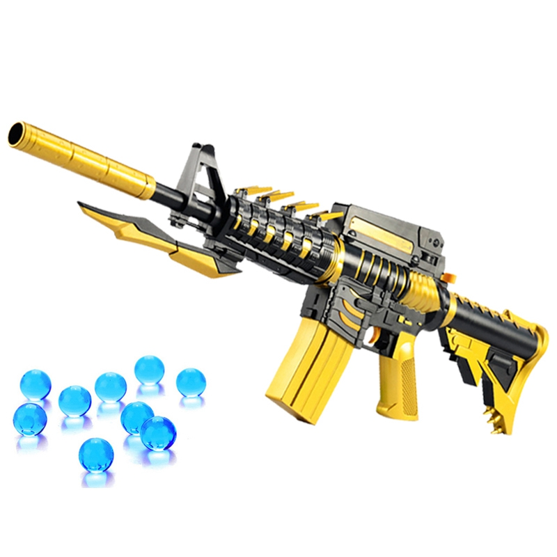 M4 Airsoft Air Guns Electric Game Toy Gun Soft Air Water Bullet Bursts Gun Live CS Assault Snipe Weapon Outdoors Toys