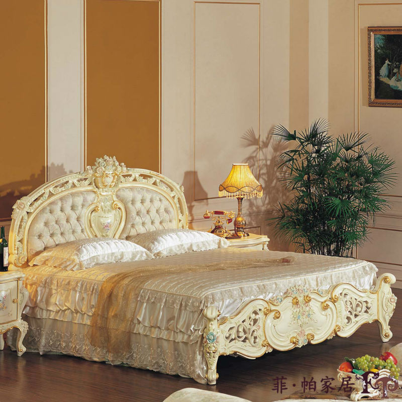 Discount Furniture Stores Online Free Shipping: Bedroom Furniture Classic Furniture Bed Free Shipping-in