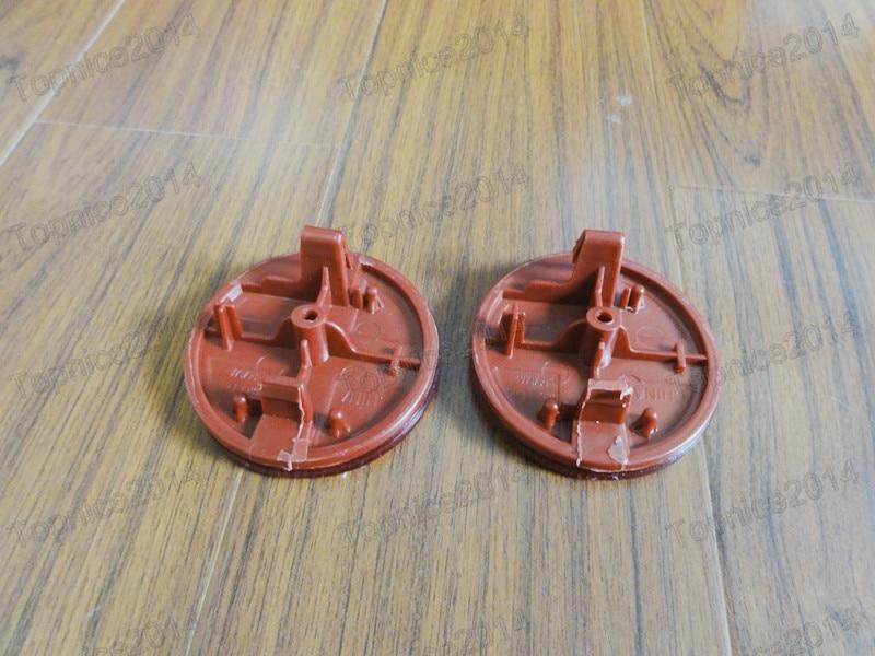 2 Adet Kırmızı Lens Arka Tampon Reflektör Işık Lambaları - Araba Farları - Fotoğraf 2