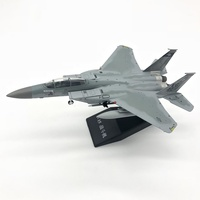 1:100 Scale airplane jet Model F15 F 15 alloy metal Hobby collection free shipping