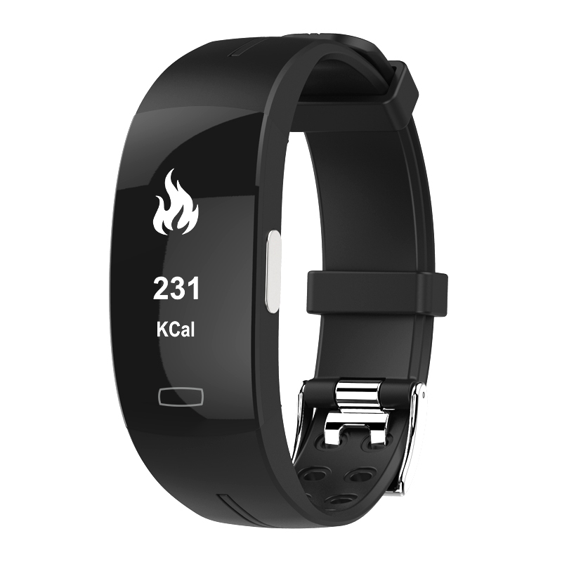 <font><b>P3</b></font> <font><b>Smart</b></font> <font><b>Band</b></font> ECG+PPG Blood Pressure Heart rate Monitor Pedometer Sports Bracelet for IOS Android IP67 waterproof pk xiaomi mi3 image