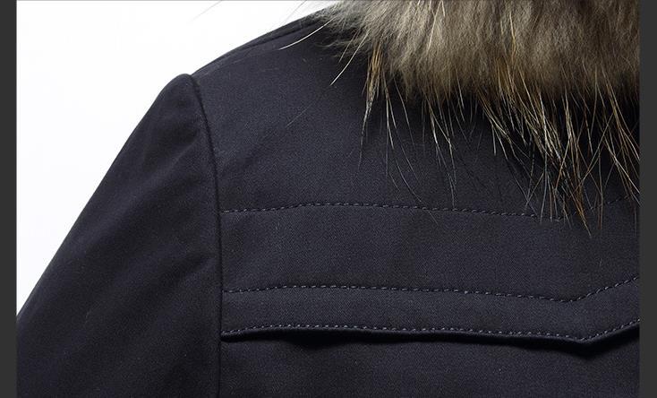 HTB1hNBKj0zJ8KJjSspkq6zF7VXa1 Batmo 2019 new arrival winter high quality warm rabbit fur liner hooded jacket men,raccoon fur collar winter warm coat men
