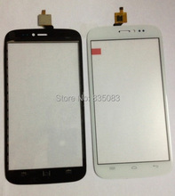 White color 5 7 Explay Cinema Capactive LCD Touch screen Digitizer front glass replacement Free Shipping