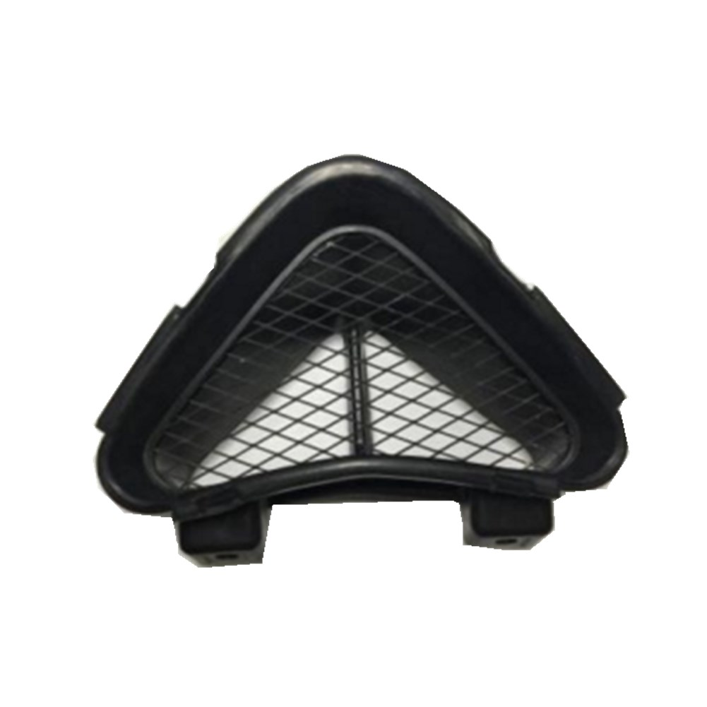 Ram Air Intake Duct Cover Grille Rubber For Kawasaki ZZR1400  ZZR-1400  ZZR 1400 NEW auto side air vent fender decoration sticker cover hole intake grille duct flow
