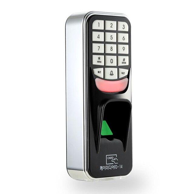 Système biométrique de Scanner de lecteur de RFID de serrure électronique de porte de Machine de contrôle d'accès de serrure de clé de mot de passe d'empreinte digitale