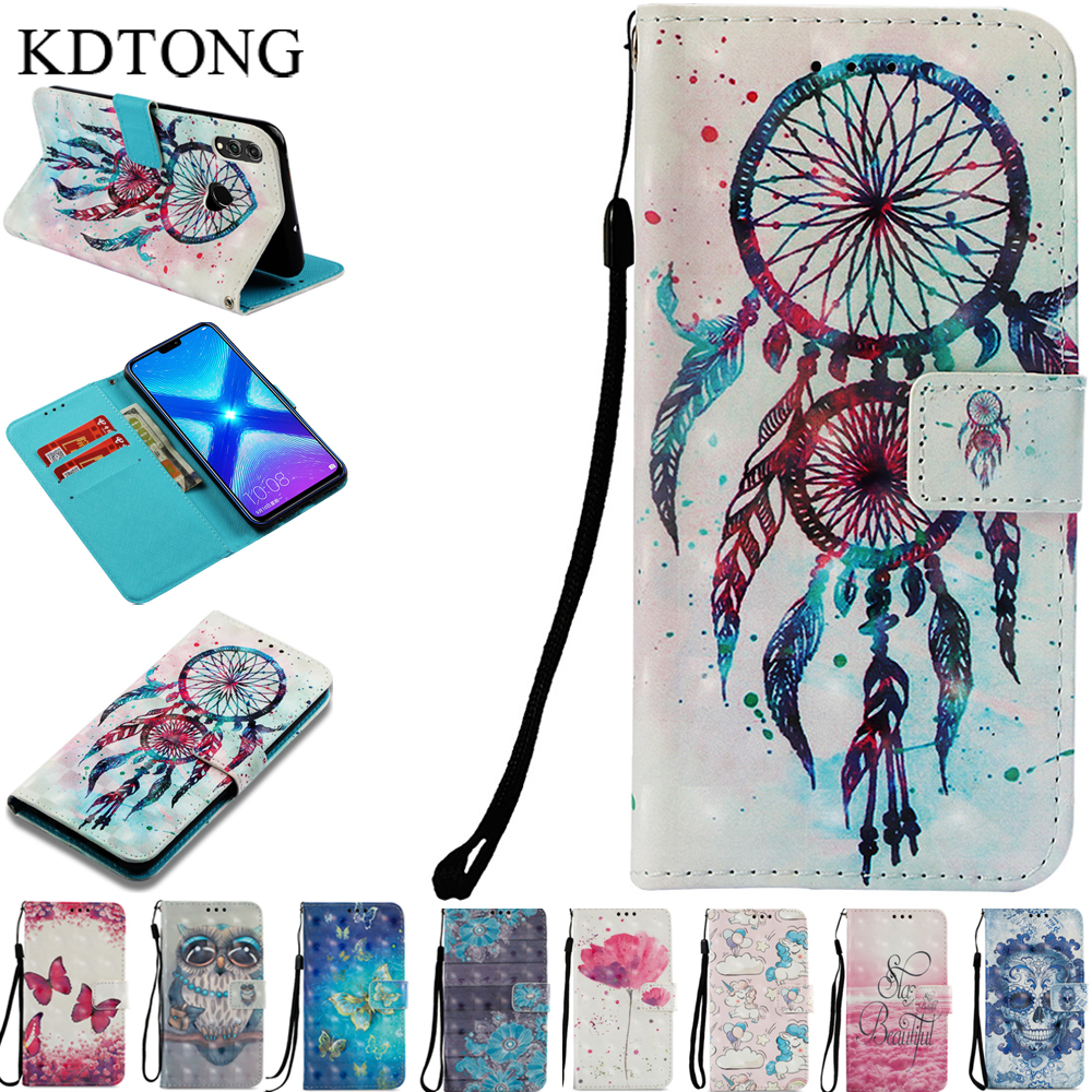 Phone Case sFor Cover Huawei Honor 8X Max Case Flip PU Leather Magnetic Wallet Card Cover For Huawei Honor 8X 8 X Max Case Cover image