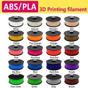 3D нить PLA/ABS нить 1,75 мульти-цвета 1 кг пластиковые катушки нить 1,75 3D принтер нить impressora 3D filamento