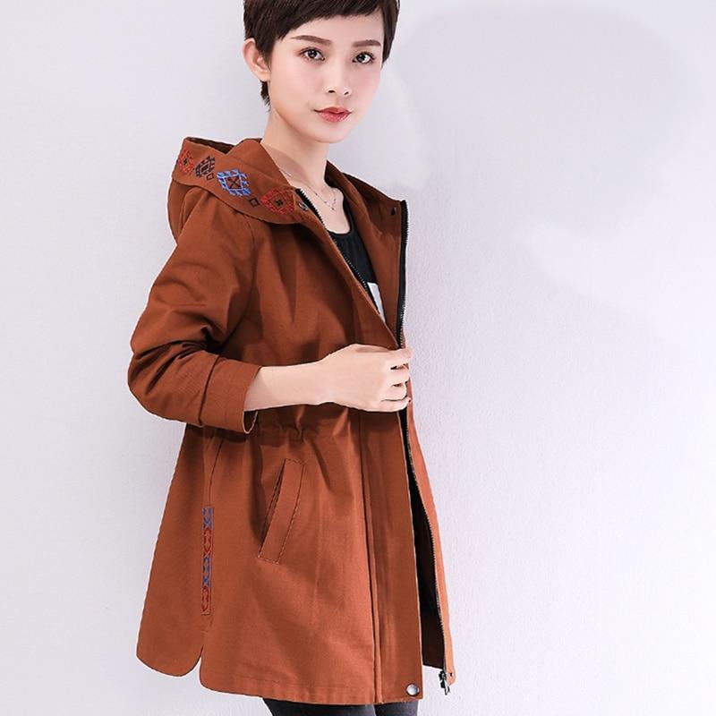 Pull Coton De 97 Veste 1 Nouveauté Élégant Printemps Lady Manteau Taille Lâche Grande Survêtement 2 Caramel À Capuche Femme Femmes Vêtir Mode 8IdqI