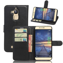 CASEISHERE Luxury Leather Flip Case for Asus Zenfone 3 Max ZC520TL Smartphone Wallet Stand Cover With Card Holder