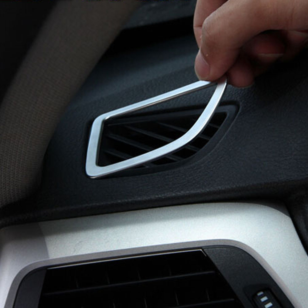 Interior accessories for bmw 3series f30 316i 320 328i 335i dashboard air conditioner outlet vents decorative