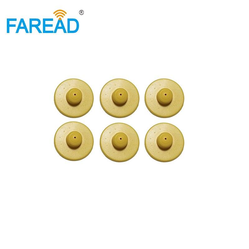 X30pcs FRD106 UHF Ear Tags +1pcs FRD760 UHF Tag Readers +1pcs Ear Tag Applicator With DHL Shipping