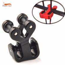 3 Colors High Quality String Splitter Cable Slider Use Plastic for Compound Bow Archery Hunting Shooting 3 8 aluminum archery cable slide compound bow string splitter roller glide cable slide bow string separator for compound bow