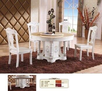 2017 Eettafel muebles de madera de hierro diseño de muebles Mesas ...