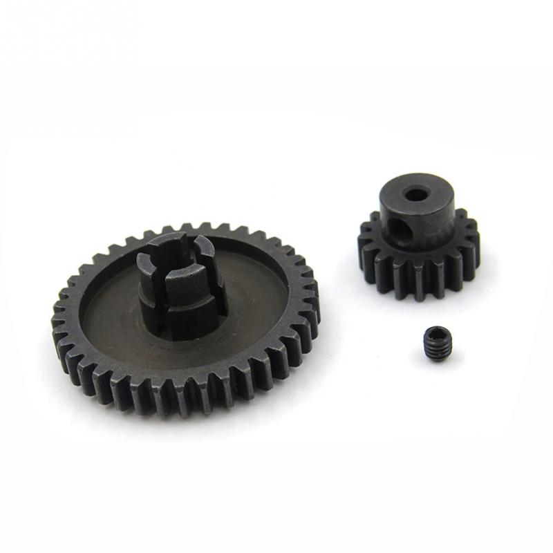Metal Upgrade Parts Motor Pinion Gear Reducer Set for Wltoys A949 A959 A969 A979 K929 RC Car Spare Accessories 12t 15t 24t 38t metal front rear differential motor driving gear upgrade parts two sets for wltoys a949 a959 1 18 rc car