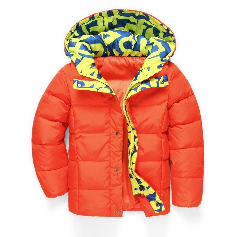 Children's Winter Jackets Boys Girls Down Parkas Kids Hooded Coats 4-11Y Children's Thicken Thermal Outerwear Outdoor SC592 виктор васнецов минувших дней печаль и радость набор репродукций