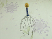 Claw Massager Body Massager Octopus Head Scalp Neck Equipment Stress Release Relax Massage Tens Pain Relief Head Care  C178