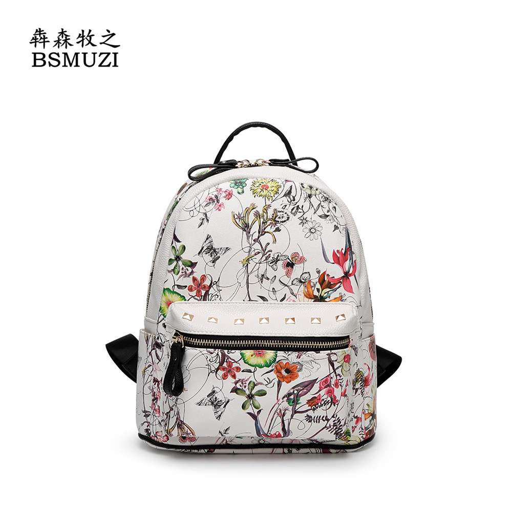 ФОТО 2016 Mochila Escolar Mujer Back Pack Women Fashion Brand Leather Backpacks For Woman Bag Shoulder Casual luxury brand women bag