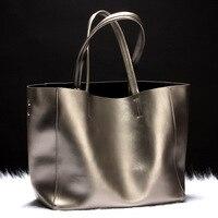Luxury Brand Designer Women Leather Handbags Italy Style Fashion Shoulder Bags Casual Big Volume Women Tote