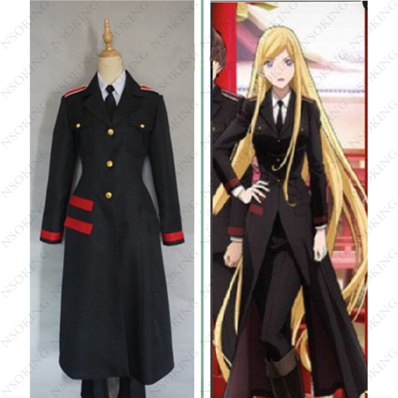 Noragami Bishamon Cosplay Costume Custom Made noragami stray god 7