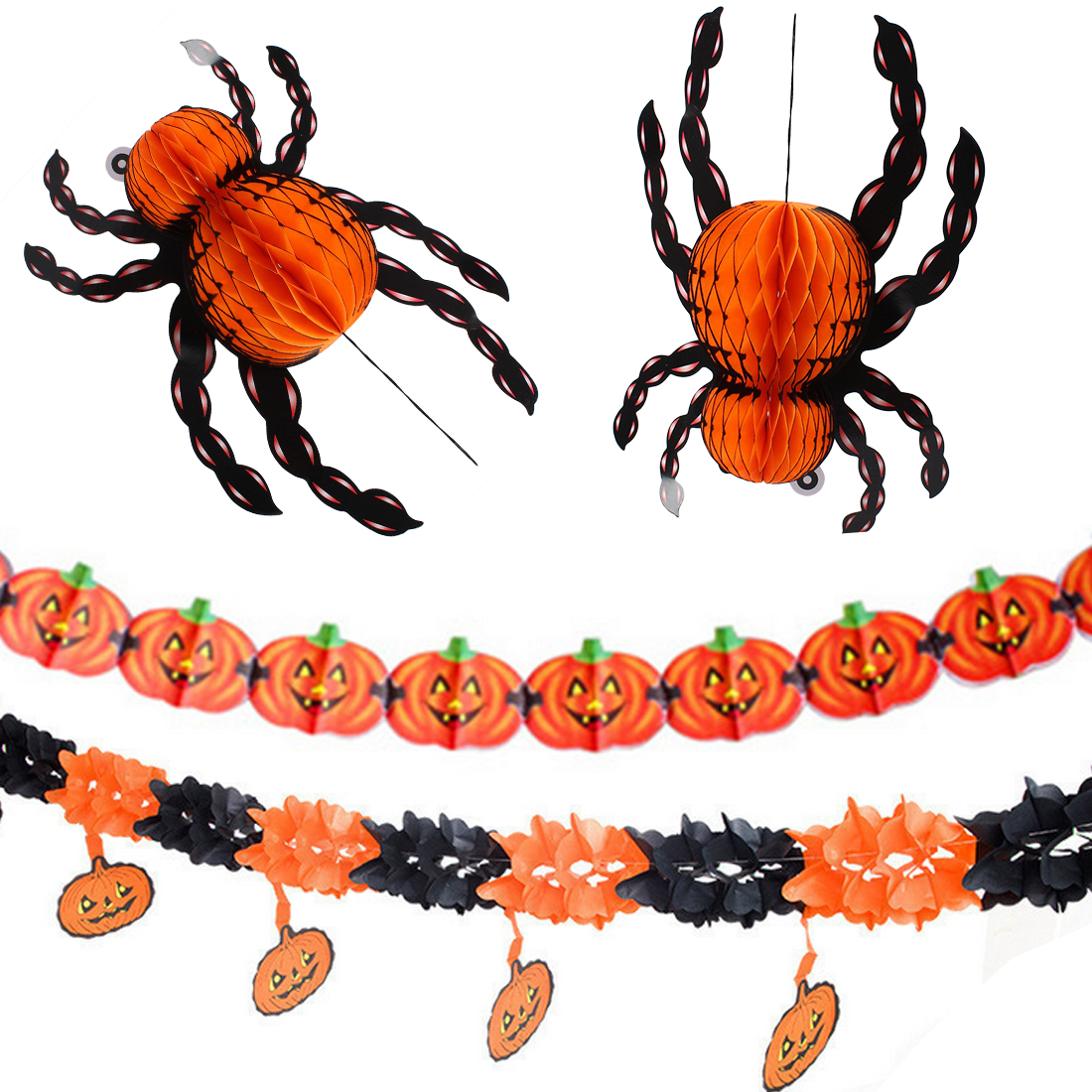Paper Spider Craft - How to make a 3d Spider out of Paper ... | 1100x1100