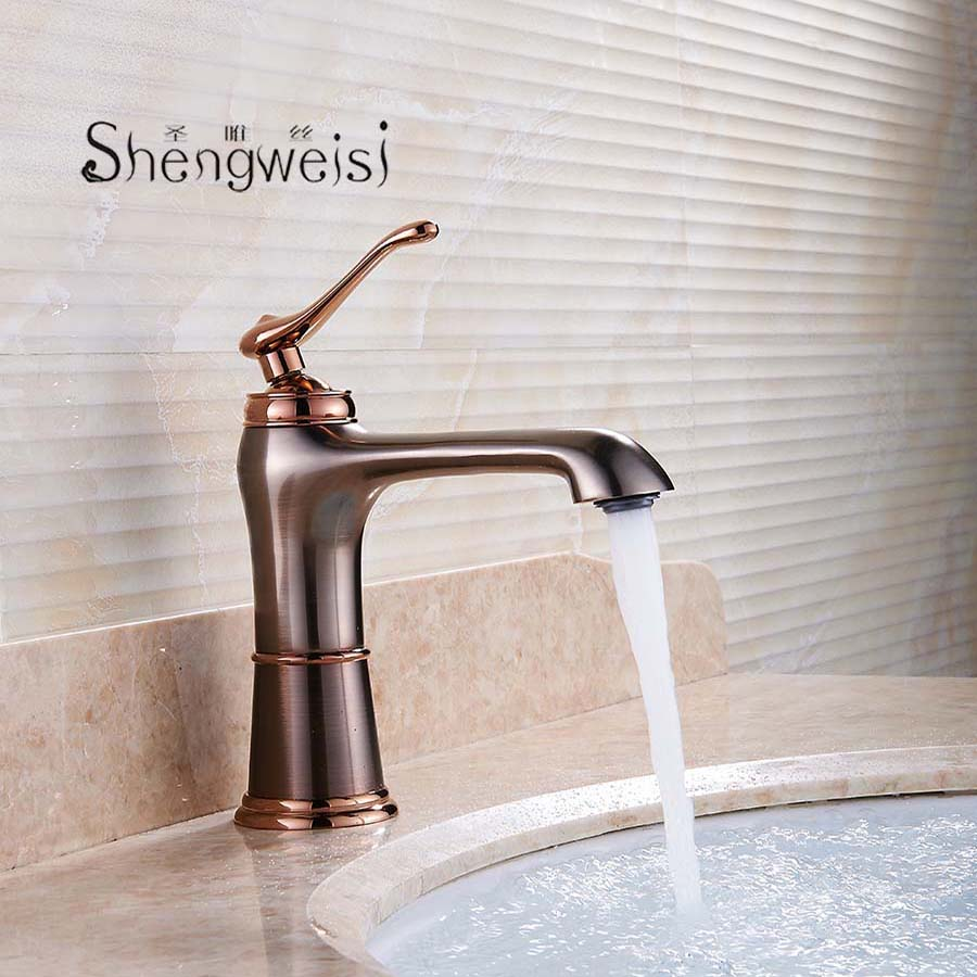 Brass Bathroom Basin Mixer Tap Oil Rubbed Bronze Tap Bathroom Faucet Hot And Cold Water Basin Faucet Torneira Musluk F все цены