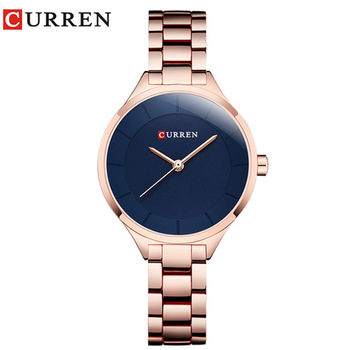 Curren 9015 Women Watches Luxury Rose Gold Full Steel Dress Jewelry Quartz Watch Ladies Fashion Elegant Clock Relogio Feminino дамски часовници розово злато