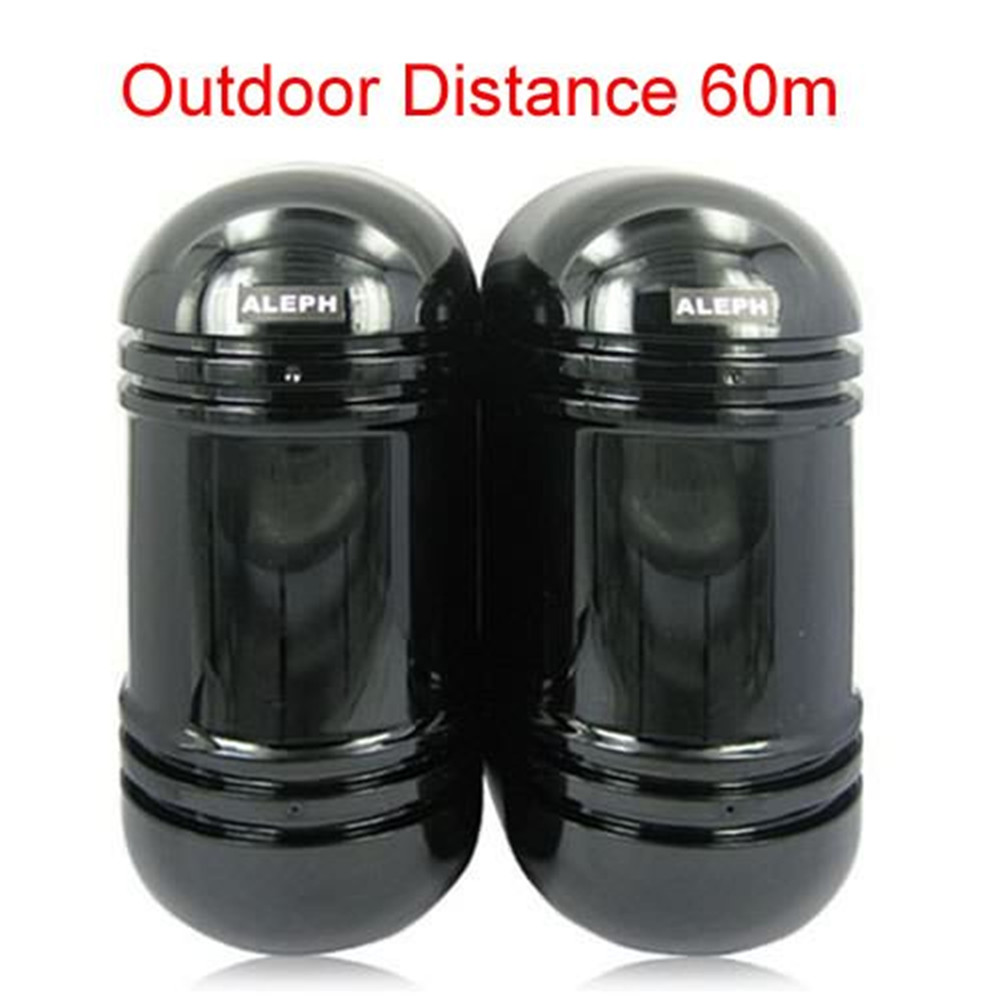 Hot 2 Beams Infrared Detector with 60M Outdoor Distance - 50 700MS