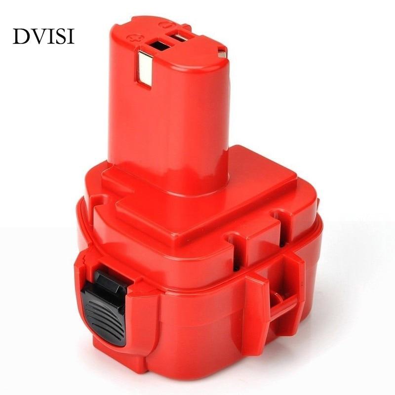 Prix pour Nouveau Rechargeable 12 V NI-MH 3600 mAh Remplacement Power Tool Batterie pour Makita 1200 1201 1220 PA12 1222 1233 1235 192598-2 6271D