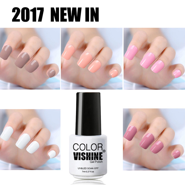 Online Shop 2017 Vishine New UV LED Soak Off Gel Nail Polish Color ...