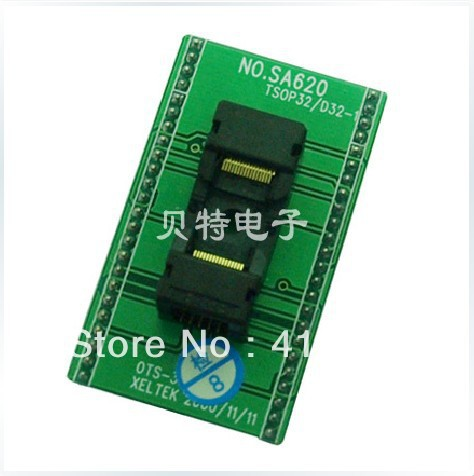Xeltek private SA620-B4807 programming adapter TSOP32 test translation private places