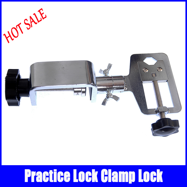 HUK rotation practice folder tool Refined steel 360 degree rotation professional locksmith supplies free shipping huk 360 rotate alloy adjustable locksmith tool softcover type practice lock vise clamp for beginner
