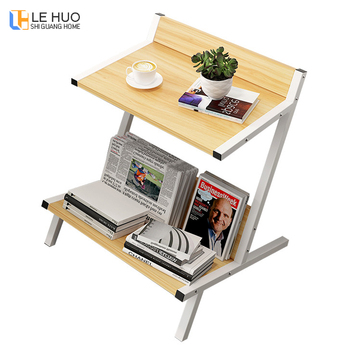 Nórdico doble de madera de mesa de café mesa de sofá de la mesa de ...