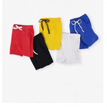 AJLONGER Kids clothing new candy color short hot summer boys beach pants shorts