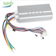 BLDC 42V-72V 3000W Electric Motor 24 Mosfet 50A Controller Electric Scooter E bike Engine Motorcycle Brushless Motor Kit(China)